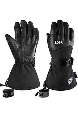 MCTi Wasserdichte Ski-/Snowboard-Handschuhe mit Touchscreen PU-Leder Winterhandschuhe mit Handgelenkleinen