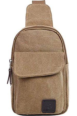 Listenwind Herren Rucksäcke - Sling Bag Brust Schulter Rucksack Pack Crossbody Taschen für Herren (Beige) - GL021-b-Awjczr-H6A