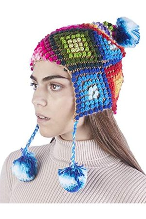 Raymis Damen Mütze 100% Alpaka Wolle Beanie - Warme