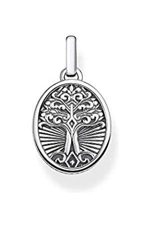 Thomas Sabo Damen Uhren - Unisex-Anhänger Tree of Love 925 Sterlingsilber PE864-637-21