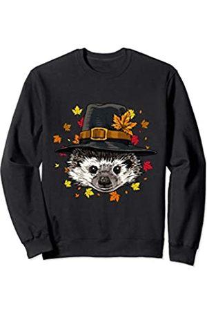 Wowsome! Thanksgiving Hedgehog Pilgrim Costume Men Women Sweatshirt