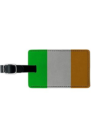 Graphics and More Graphics & More Ireland Flag Leather Luggage Id Tag Suitcase Carry-on