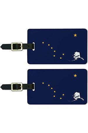 GRAPHICS & MORE Reisetaschen - Alaska Ak Home State Luggage Suitcase Id Tags-Flag