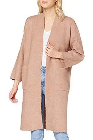 Pieces Damen PCROW LS Knit Coatigan Mantel
