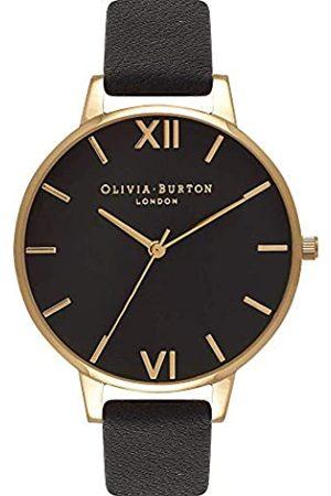 Olivia Burton OliviaBurtonDamenAnalogQuarzArmbanduhrmitLederarmbandOB15BD55