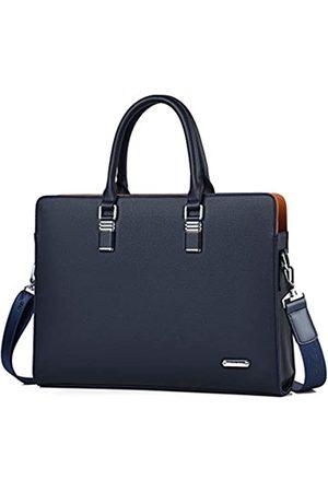FSD.WG Herren Laptop- & Aktentaschen - [] Business-Tasche Leder Aktentasche Schulter Laptop Business Tasche für Herren