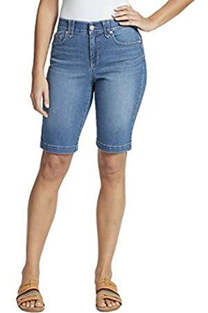 Gloria Vanderbilt Damen Bermuda Shorts - Women's Amanda High Rise Bermuda Short