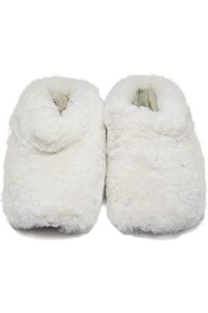 Rupestre Herren Winterstiefel - Hausschuhe - handgefertigt mit natürlicher Schafwolle - Premium Mehrzweckschuhe perfekt für Zuhause - Hypoallergene Winterschuhe - Ideal für Damen und Herren - Größe 35 bis 47, Wei�