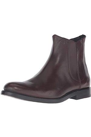 Frye Herren Chelsea Boots - Herren Jet Chelsea, Dunkelbraun, glatt, Veg Kalb, 11