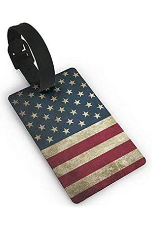 MSGUIDE Reisetaschen - Kleine Gepäckanhänger für Koffer, PVC, Reisetaschen-Anhänger zum Identifizieren von Namen