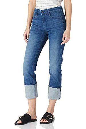 G-Star Damen Noxer High Waist Straight Jeans, Blue (Faded Neptune Blue 6550-C571)