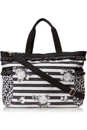 LeSportsac X Benefit Petite Temptress Reise-Handtasche, Schwarz (Blockiert von Catcall)