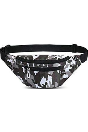 PPXGOGO Herren Sporttaschen - Bauchtasche für Damen und Herren, modische wasserdichte Hüfttaschen mit verstellbarem Gürtel, lässige Bauchtasche für Reisen, Sport, Laufen