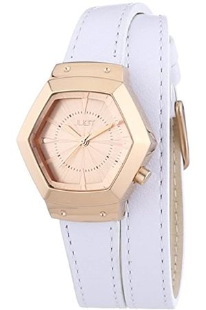 Just Watches Damen Uhren - Damen-Armbanduhr Analog Quarz Leder 48-S2243-RG
