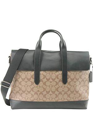 Coach Herren Laptop- & Aktentaschen - Herren Signature Canvas Leder Hamilton Portfolio Aktentasche Tasche Style 580