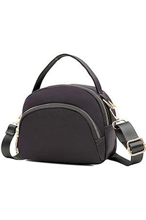 Semikk Damen Reisetaschen - Kleine Umhängetasche für Frauen, Handytasche, Umhängetasche, Mini-Reise-Nylon-Umhängetasche, mehrere Reißverschlusstaschen., (Bb1 )