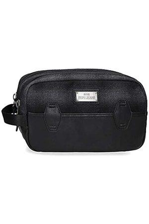 Pepe Jeans Herren Reisetaschen - Scotch Anpassungsfähiger Vanity Case mit zwei Fächern 26x16x12 cms Polyester und PU