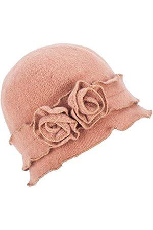 Lawliet Damen Hüte - Damen Mütze Gatsby 1920er Winter Wollmütze Baskenmütze Beanie Crochet Bucket Flower Hat A285 - - Einheitsgröße