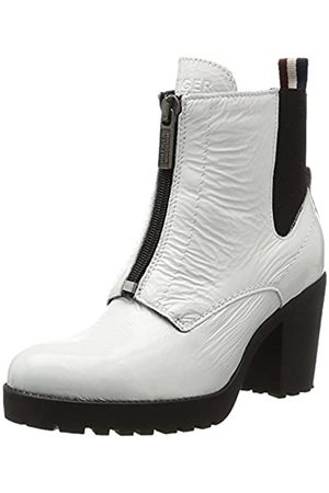 Tommy Hilfiger Damen B1385OO 3A Chelsea Boots, (White)