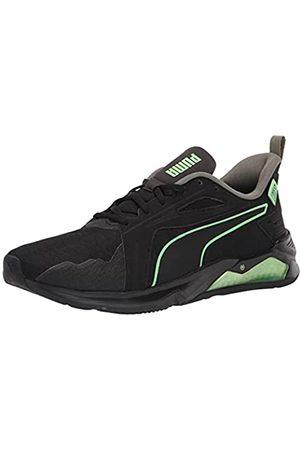 PUMA Herren LQDCELL Method First Mile Crosstrainer, Black-Elektro Green-vetiver