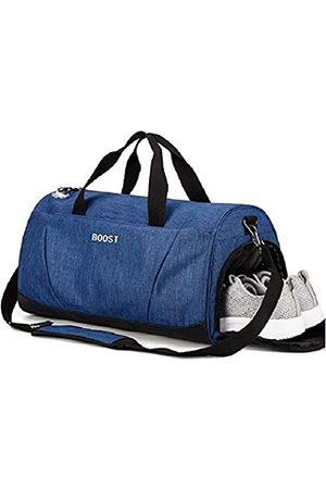 Boost Unisex-ErwachseneSportSporttaschemitWet-TaschenundSchuheCompartmentblau