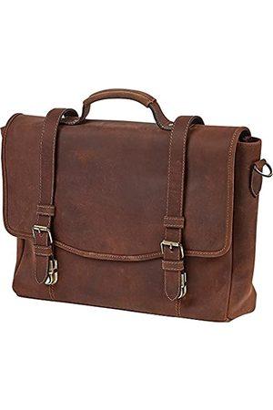 ClaireChase Rustikal Messenger Laptop Messenger Bag - 159-RUSTICBROWN