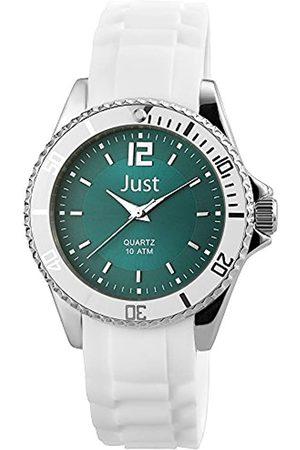Just Watches Damen Uhren - Damen Analog Quarz Uhr mit Kautschuk Armband 48-S3863-HBL