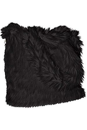 CHC-Beverly Hills Unisex-Erwachsene Luxurious Signature Fluffy Fur Weekender Bag Black Large Übernachtung Duffel