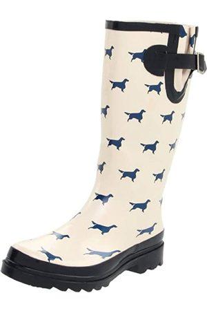 Western Chief Damen Stiefel - Frauen Pointer Regen-Boot, Beige