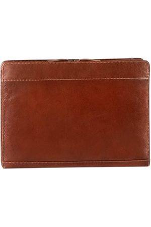 Derek Alexander Laptop- & Aktentaschen - Large Leather Portfolio
