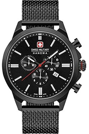 Swiss Military Hanowa Uhren - Unisex Erwachsene Analog Quarz Uhr mit Edelstahl Armband 06-3332.13.007