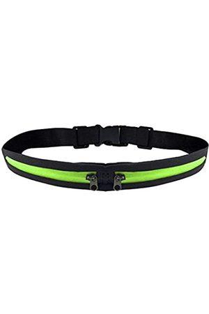 F-ber Laufgürtel Hüfttasche mit 2 erweiterbaren Taschen für Damen und Herren, zum Wandern, Joggen, Walken, Radfahren, schweißfest, regenfest