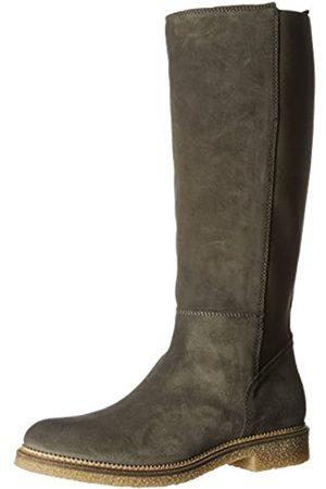 Tommy Hilfiger Damen H1385AZEL 2B Stiefel, (Steel Grey)