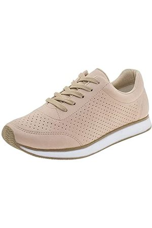 VIA MARTE Lässiger Damen-Sneaker, atmungsaktiv, zum Schnüren, Pink, Pink (rose)