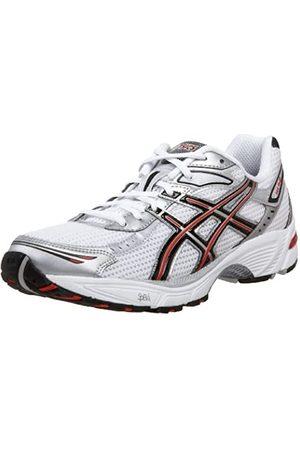 Asics Men's GEL-1140 Running Shoe,White/Silver/Flash