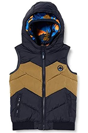 Scotch&Soda Herren Westen - Shrunk Boys Wendbarer Bodywarmer aus recyceltem Material Fleece Vest