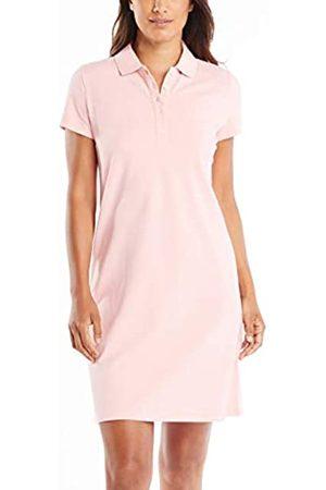 Nautica Damen Freizeitkleider - Damen Easy Classic Short Sleeve Stretch Cotton Polo Dress Freizeitkleidung