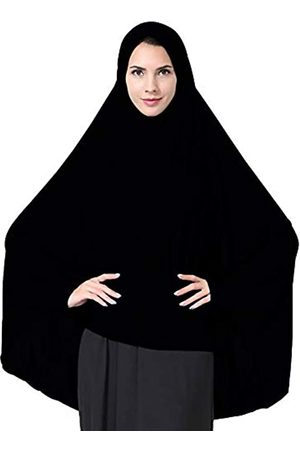 Ababalaya Damen Hüte - Damen elegant bescheidener moslemischer islamischer ramadan weich leichte jersey hijab langer schal mittel