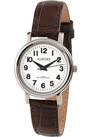 AURORE Damen Uhren - DamenAnalogQuarzUhrmitEdelstahlArmbandAF00012