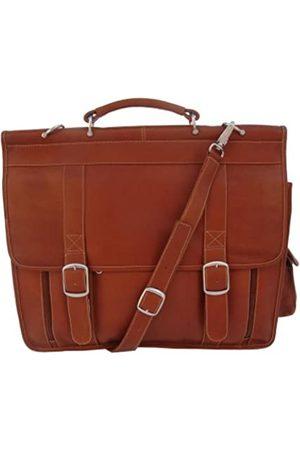 Piel Laptop- & Aktentaschen - European Briefcase, Saddle