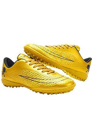 iFANS Bequeme Fußballschuhe für Herren, für drinnen und draußen, für Jungen, Fußballstudenten, Sneakers, Gelb ( -X)