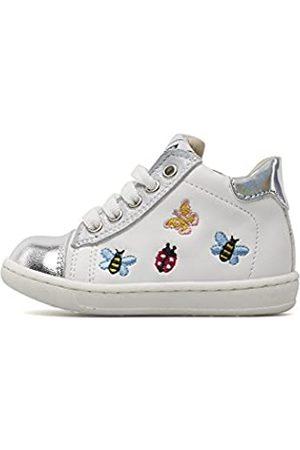 Unbekannt Jungen Schuhe - SHOEB76 Jungen 1781 Hohe Sneaker, (Bianco AH4)