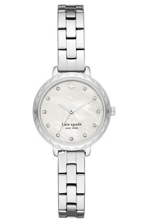 Kate Spade Uhr Morningside Scallop Three-Hand Stainless Steel Wat silber
