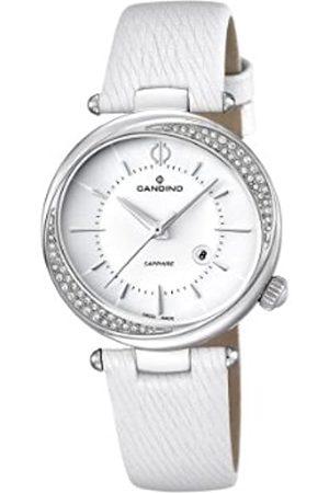 Candino Damen Uhren - Damen-Armbanduhr Analog Quarz Leder C4532/1