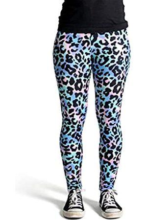 cosey Damen Leggings & Treggings - Damen Animalprint Leopardenmuster Leggings
