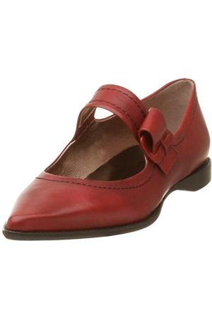 Kenneth Cole New York Damen Ballerinas - Mary Jane Damen Schnalle Down Flach, Rot (Korallenrot)