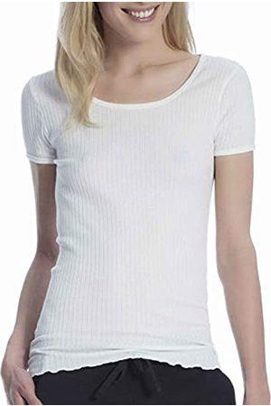 Marc O'Polo Body & Beach Damen Blusen - Damen W-Shirt Crew-Neck Unterhemd