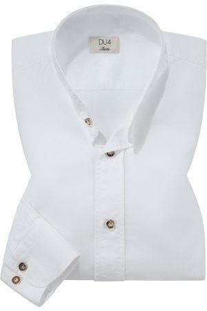 DU4 Trachtenhemd für Herren von in . Zeitlos und traditionell zugleich begeistert das tailliert geschnittene Modell aus hochwertiger Baumwolle..... Mehr Details bei Lodenfrey.com