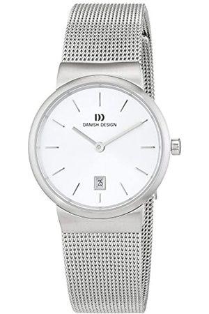 Danish Design Damen Analog Quarz Uhr mit Edelstahl Armband 3324581