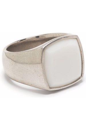 Tom Wood Herren Ringe - Two-tone signet ring